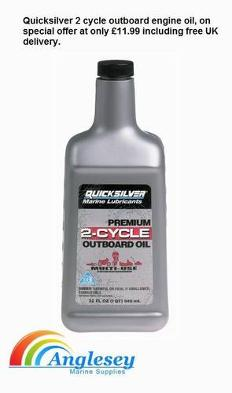 Quicksilver Two Stroke Oil